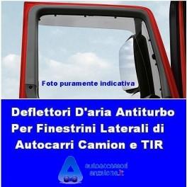 3//5 p dal 2018 Farad Deflettori Aria Antiturbo Antivento Peugeot Rifter