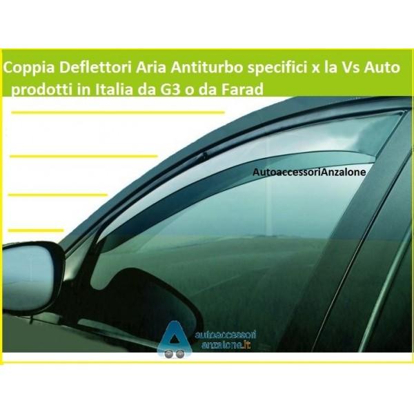 FARAD 1-12.570 COPPIA DEFLETTORI DARIA O ANTITURBO ANTERIORI PER AUTO
