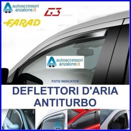 "DEFLETTORI ARIA ANTIVENTO /""G3/"" PER VW POLO DAL /'09-5 PORTE"