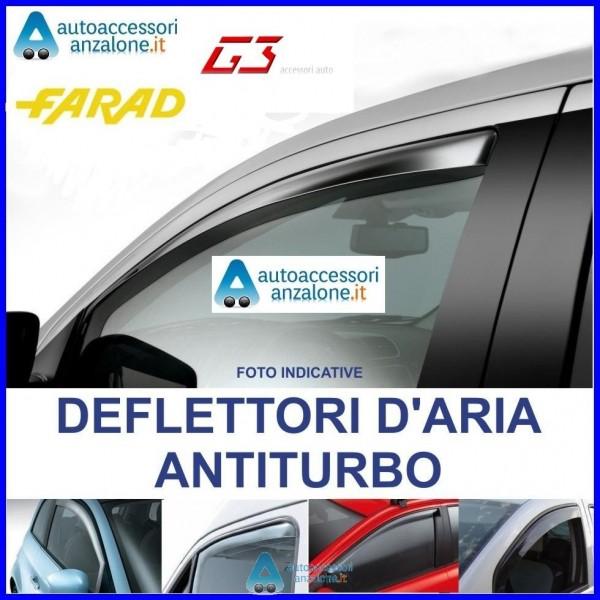 FARAD 1-12.337 COPPIA DEFLETTORI DARIA O ANTITURBO ANTERIORI PER AUTO