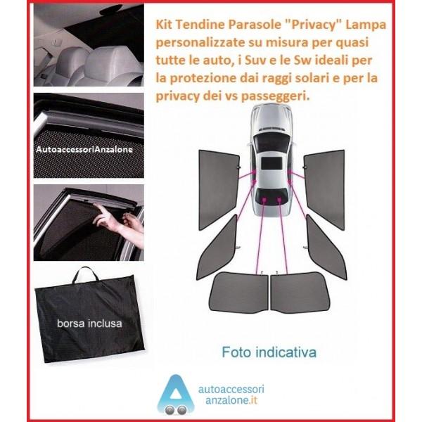 4 Pezzi per Volkswagen Tiguan 2010 2011 2012 2013 2014 2015 2016 plastica ABS finestrini Parasole Parasole deflettore Protezione Auto Stile